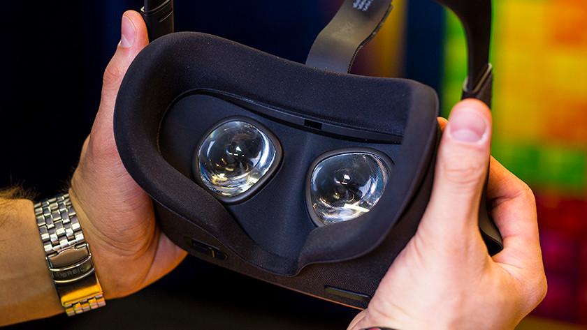 Set up VR headset