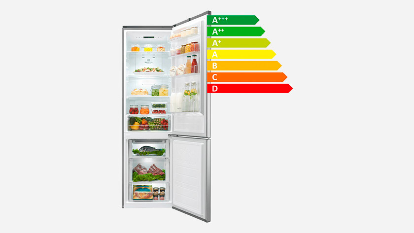 Energy-efficient fridge