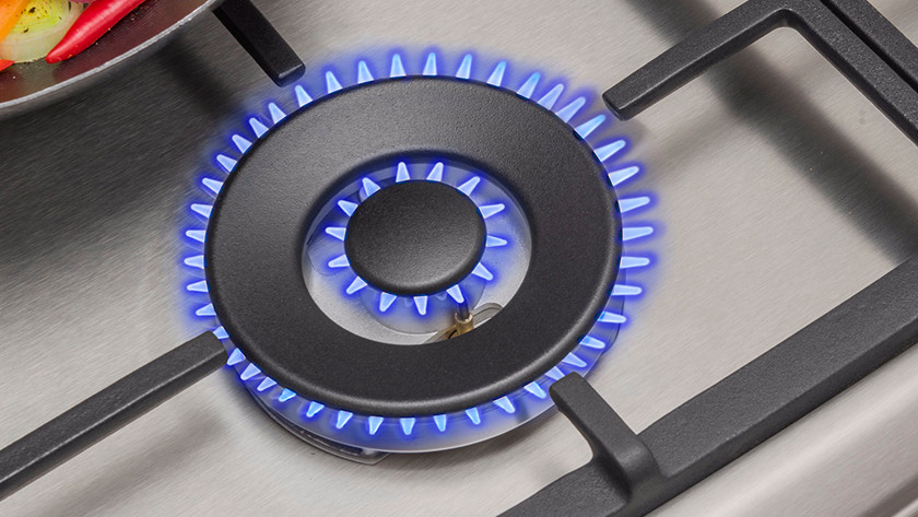 Pans for gas stove