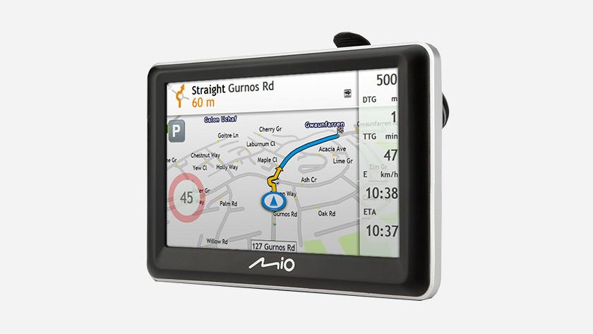 Mio navigatiesysteem