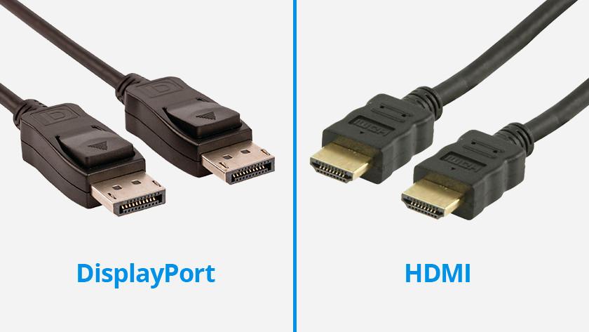 Displayport vs HDMI voor hoge resolutie