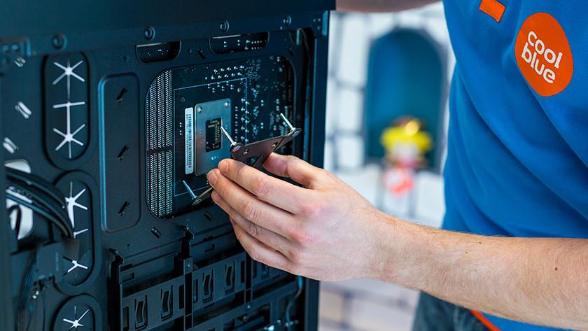 Verwijder huidige processorkoeler en cpu