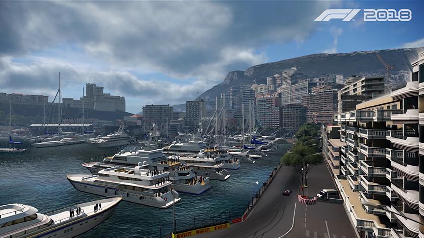 F1 2018 monaco
