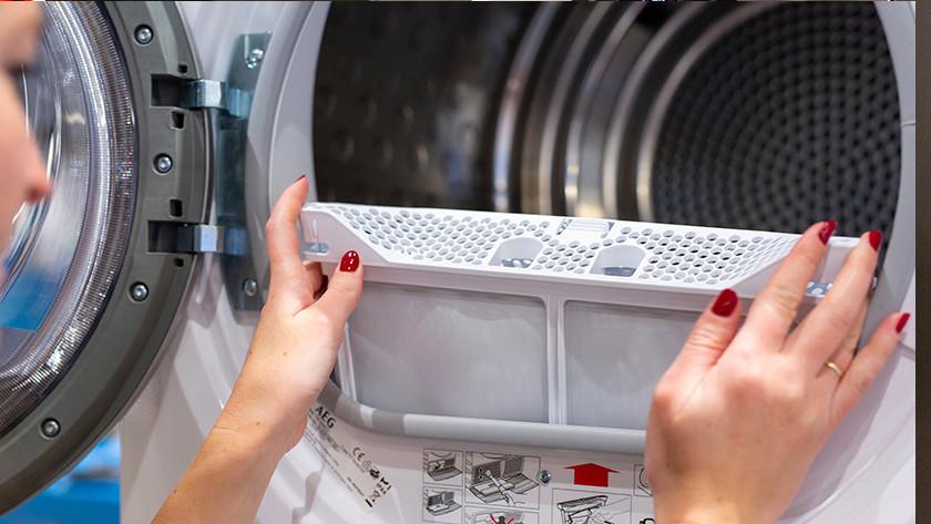set up dryer