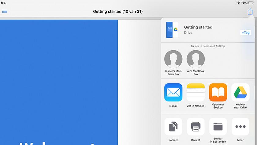 Bestanden uit de cloud van andere apps verplaatsen