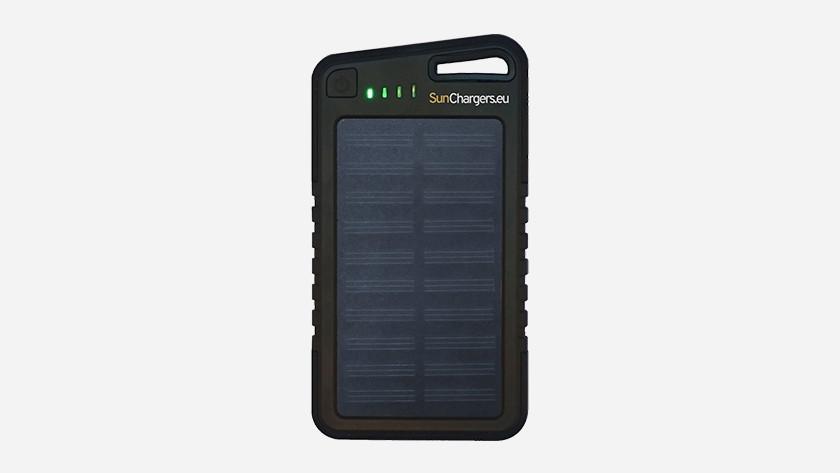 Solar powerbank accu