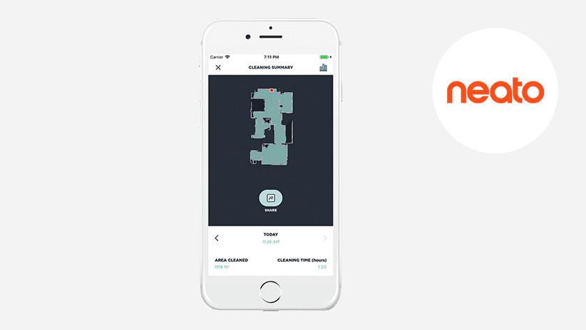 Neato Robotics app