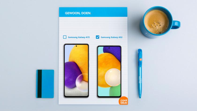 Screen size Samsung A52