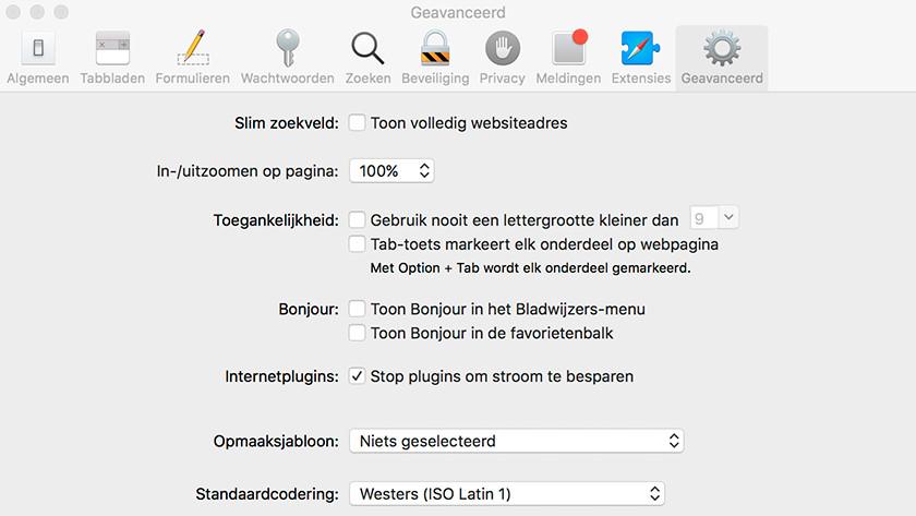 Disable Flash plugin Apple MacBook