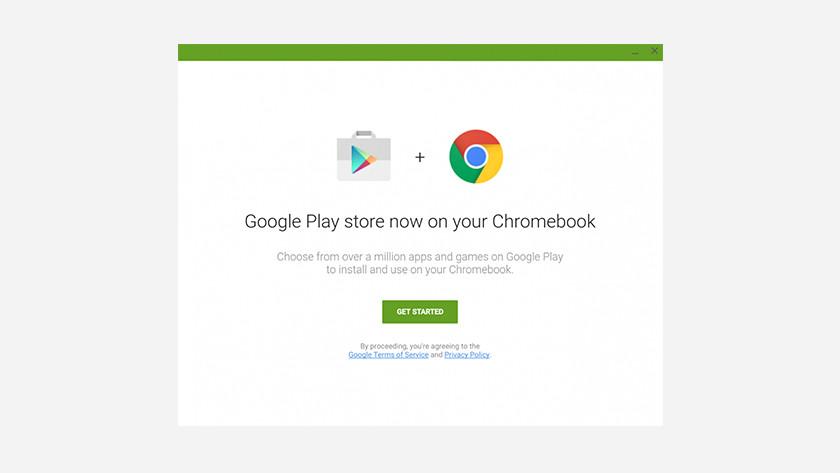 Android apps op een Chromebook.