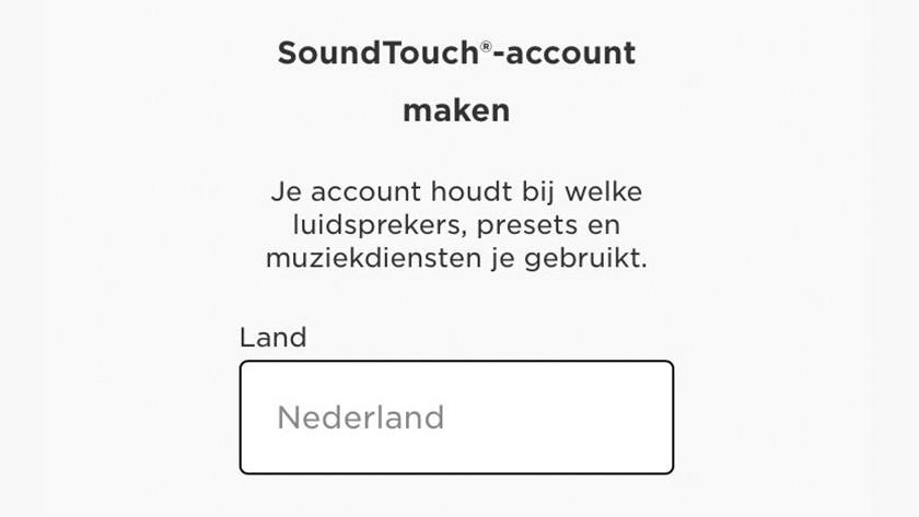 Step 9: create an account