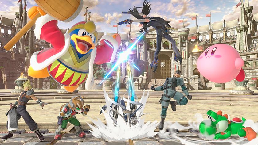 Knokken in Super Smash Bros.