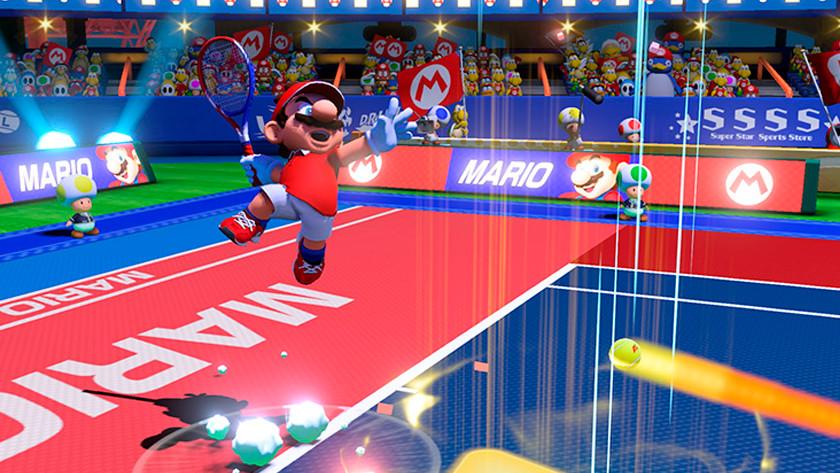 Rallies winnen in Super Mario Tennis Aces