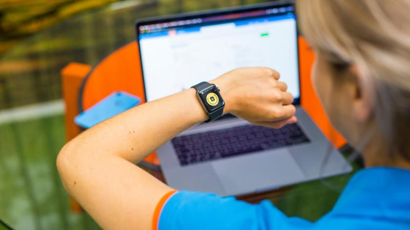 Walkietalkie op Apple Watch