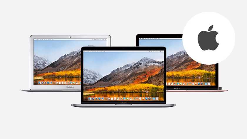 Three MacBooks side by side.