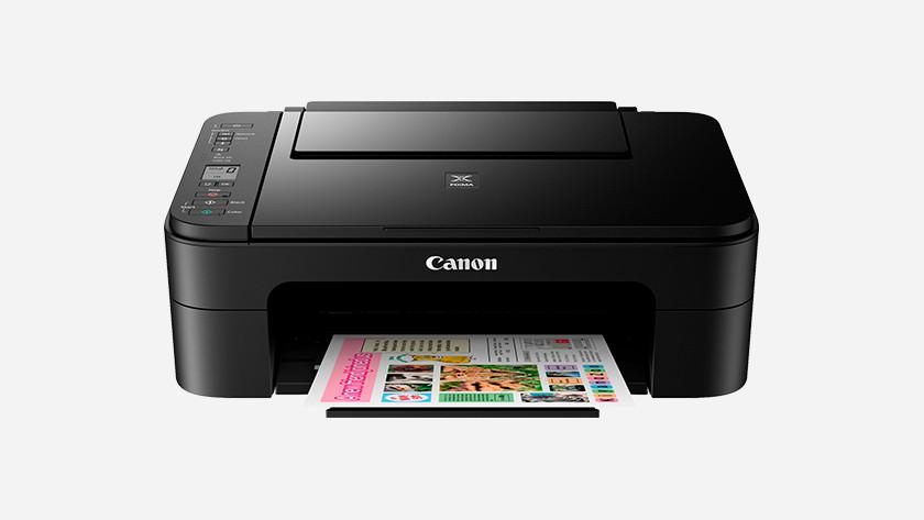 Installing a Canon printer