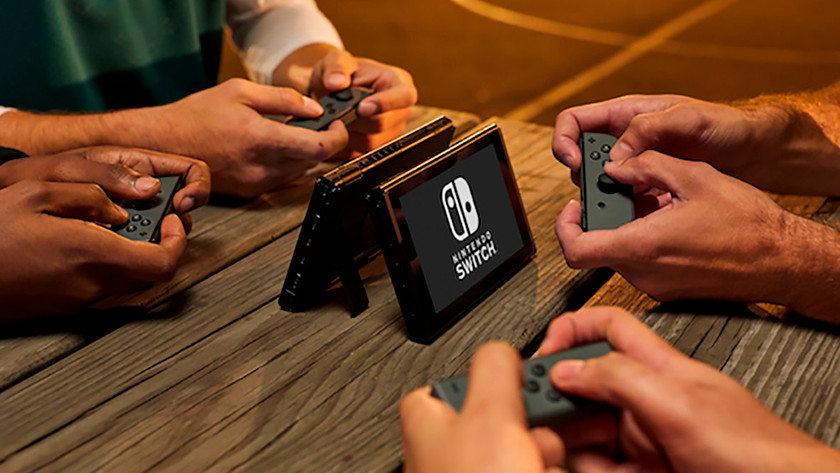Nintendo Switch together play games gamer multiplayer