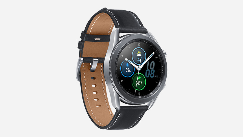 Samsung Galaxy Watch3: oxygen measurement, fall detection