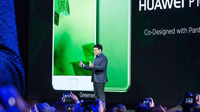 Huawei smartphone presentatie