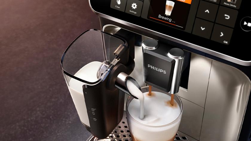 Volautomaat: melk opschuimen gaat eenvoudig