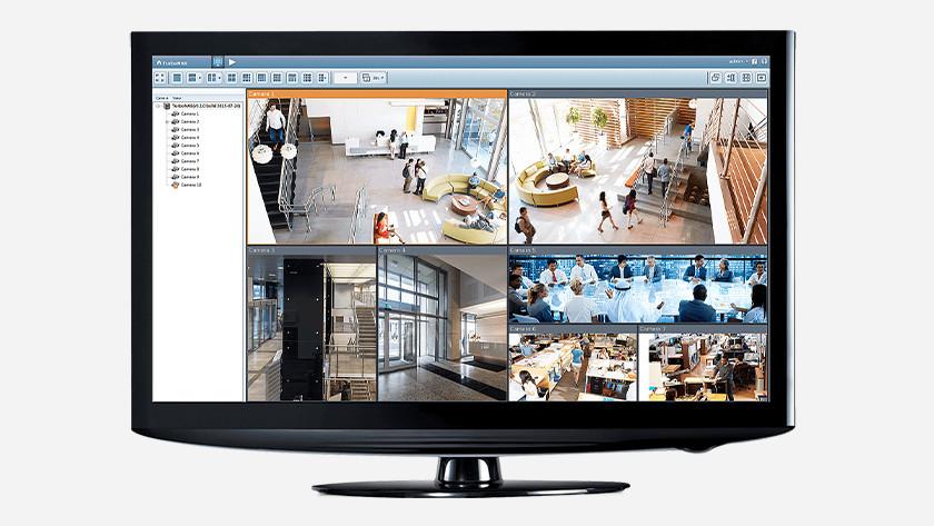 bewakingsbeelden opslaan en streamen via je NAS