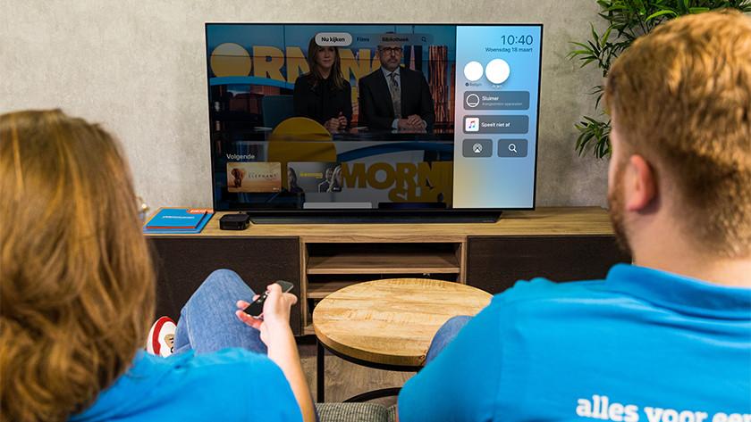 Aan de slag met Apple TV delen