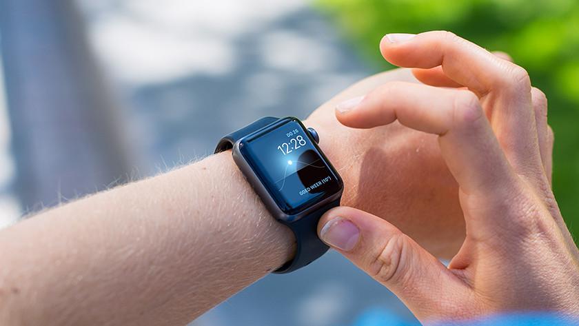 De Apple Watch 'Zonnestand'-wijzerplaat