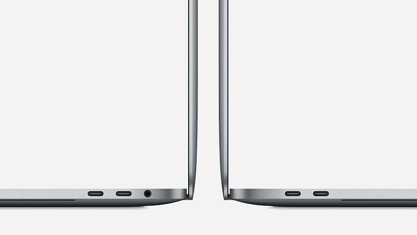 MacBook aansluitingen