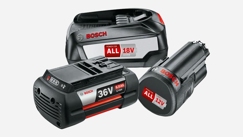 Bosch Lithium Ion accu's