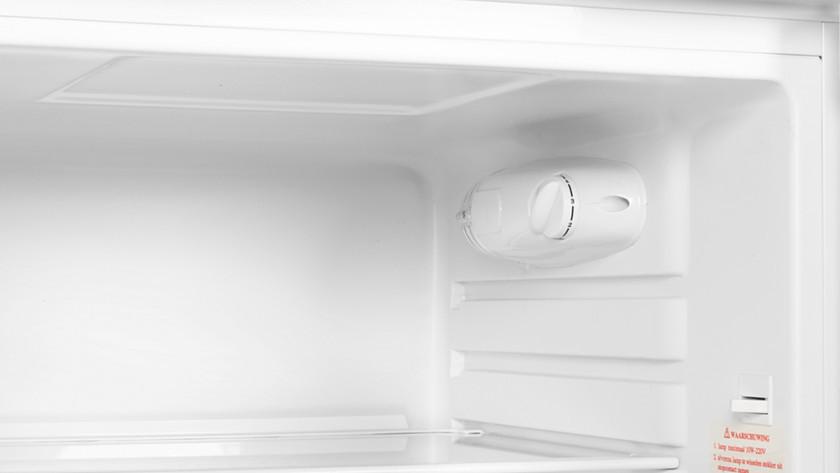 Empty freezer compartment