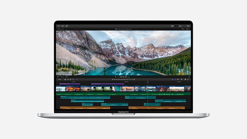 Apple MacBook Pro 16 inches video card