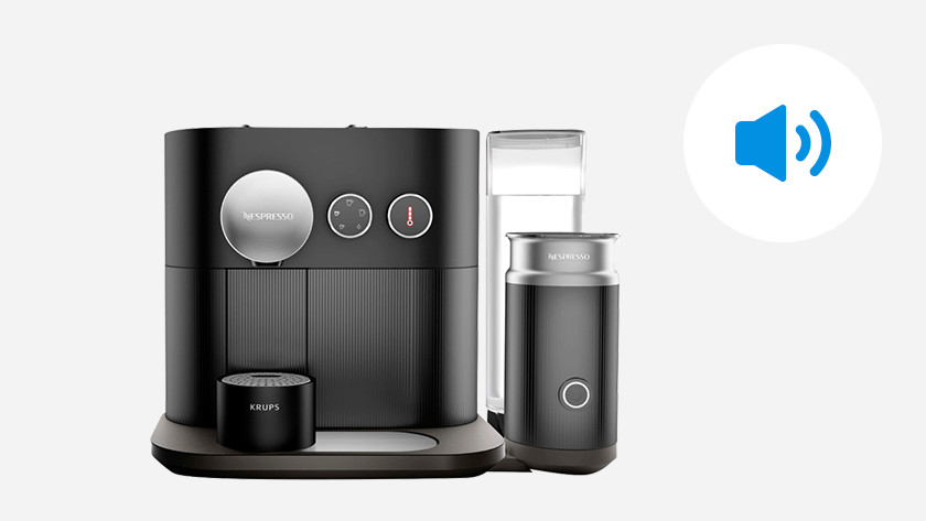 Stille Nespresso machine