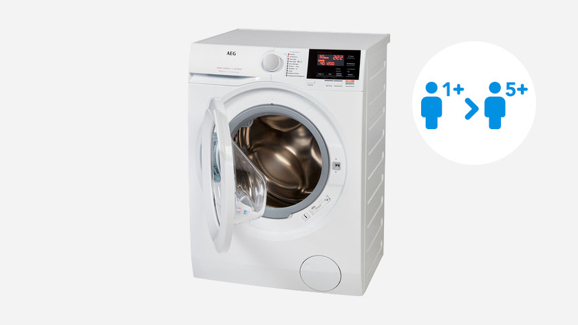 Filling weight AEG washing machine 6000 series