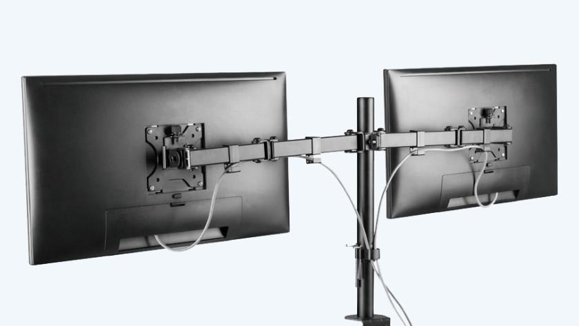 Organiseer je kabels met de ingebouwde kabelmanagement