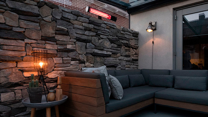 Enclosed terrace 16 m² - 20 m²