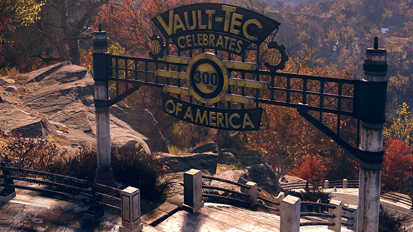 Fallout speelt zich af in West - Virginia