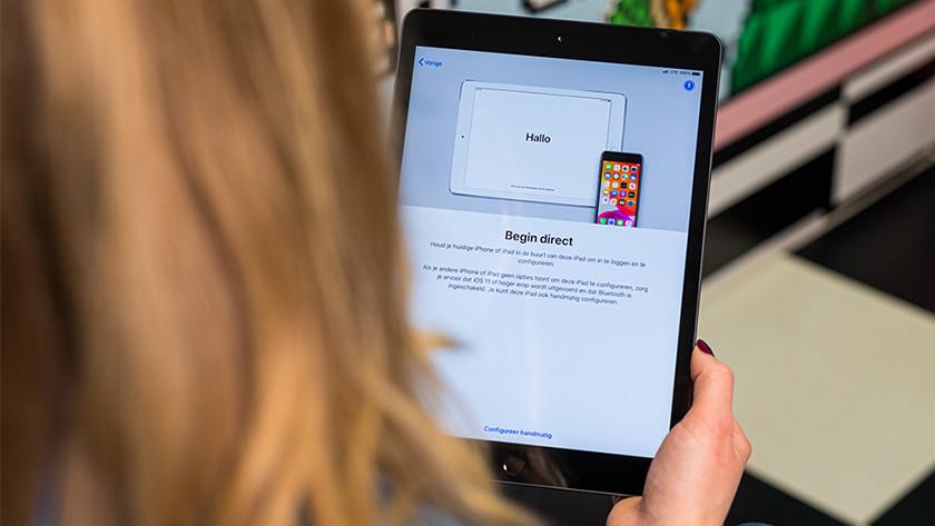 Configuring the iPad