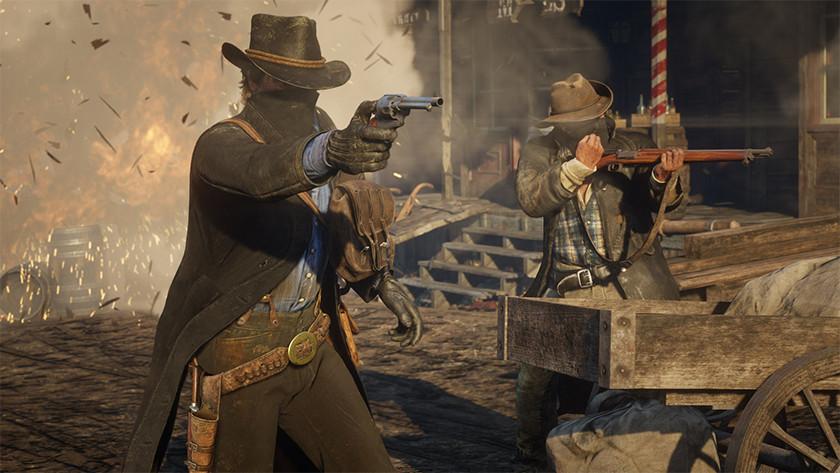 Screenshot van Red Dead Redemption 2.
