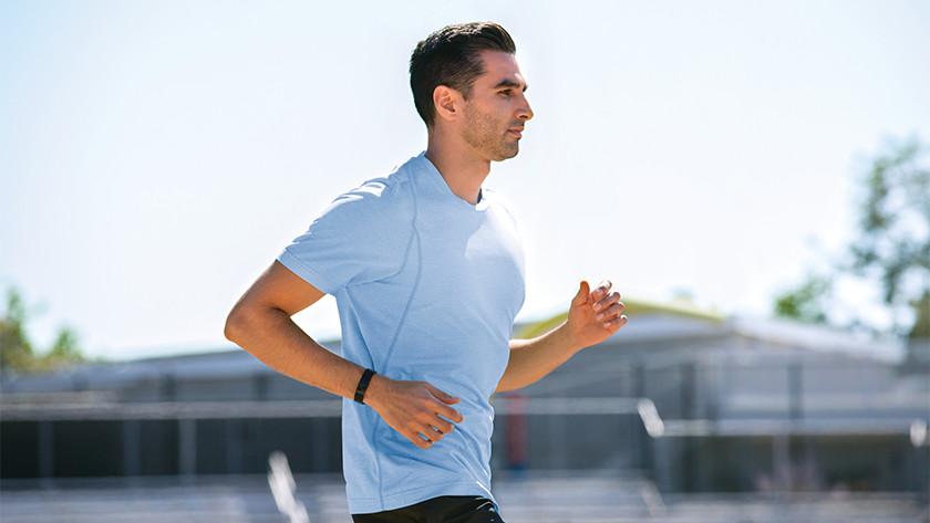 Fitbit Inspire 2 VO2 max meting, meldingen bij te hoge hartslag