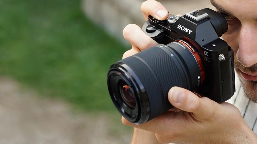 Scherpe beelden Sony Alpha A7