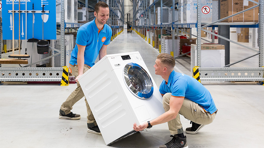 Tilt washing machine