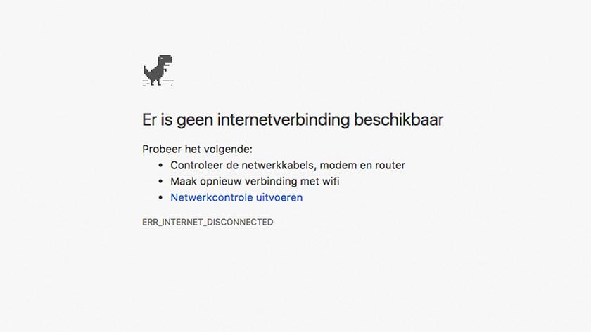 Huidige internetsnelheid