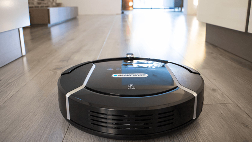 Oppervlakte vloer robotstofzuiger