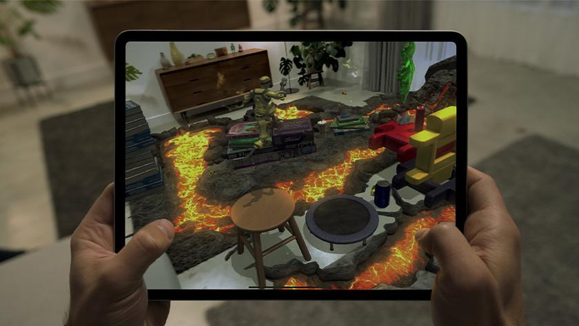Gamen met iPad