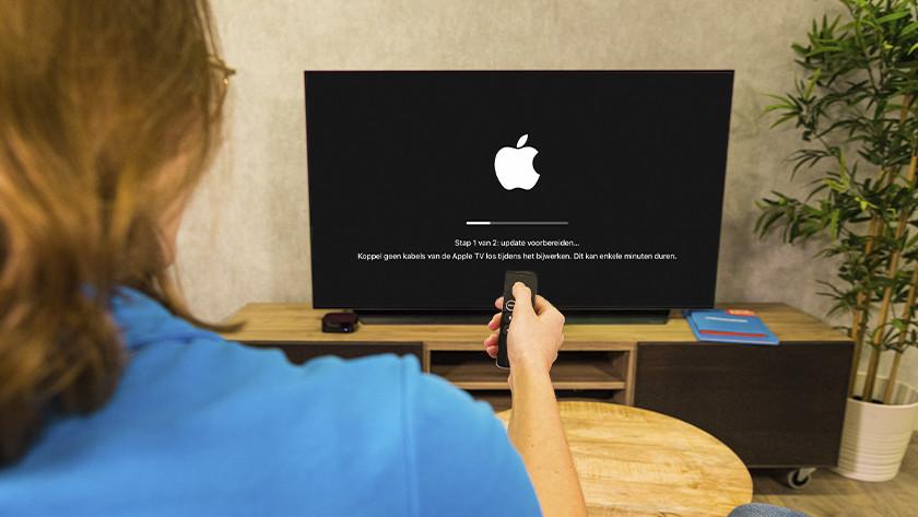Apple TV zoekt nu naar updates en installeert die als ze beschikbaar zijn