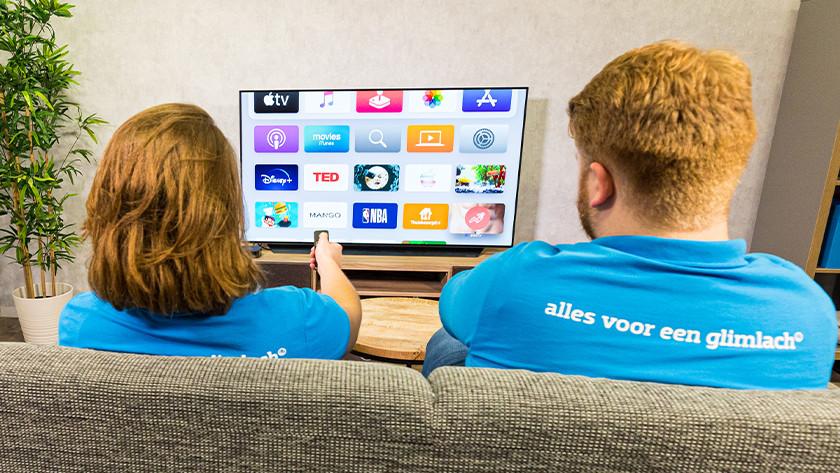Wat kun je met Apple TV
