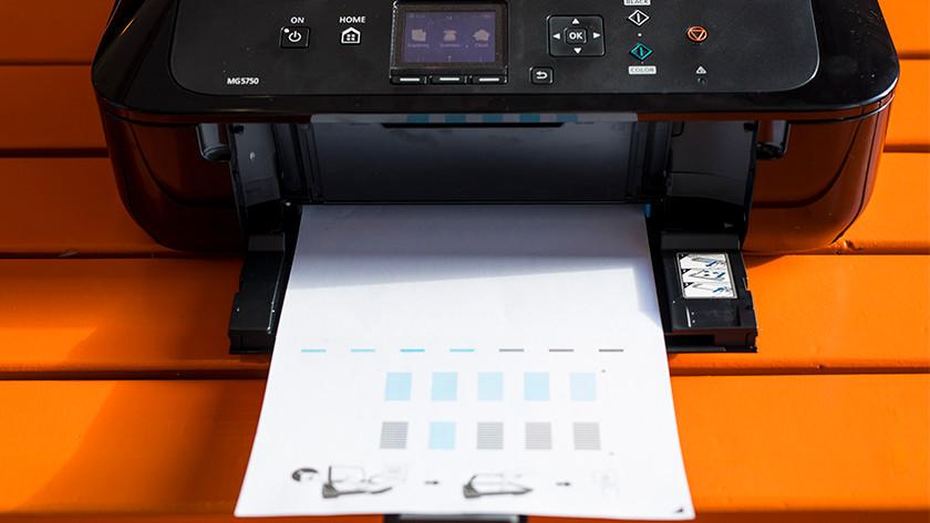 start met printen