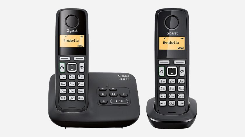 Wireless landline phone expansion handset