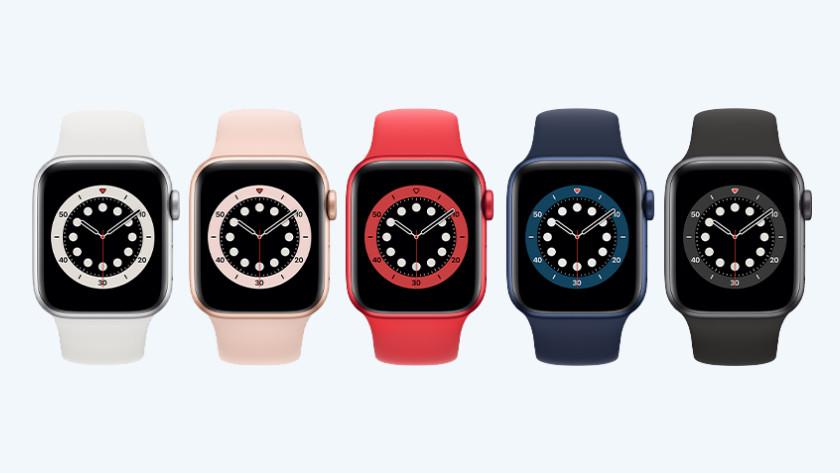 Apple Watch Series 6 kleuren