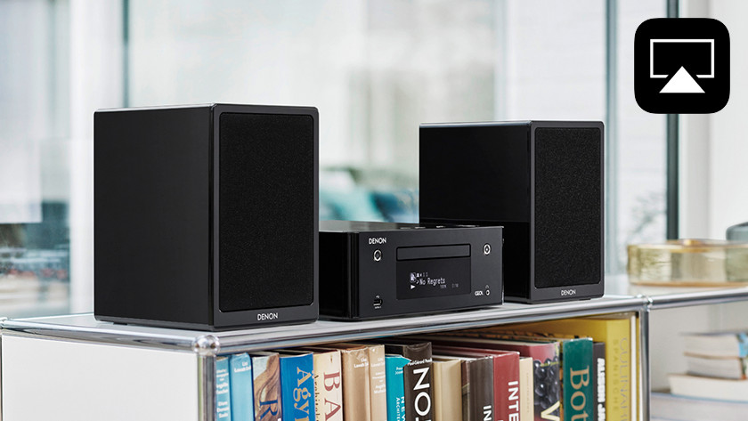 AirPlay stereo sets